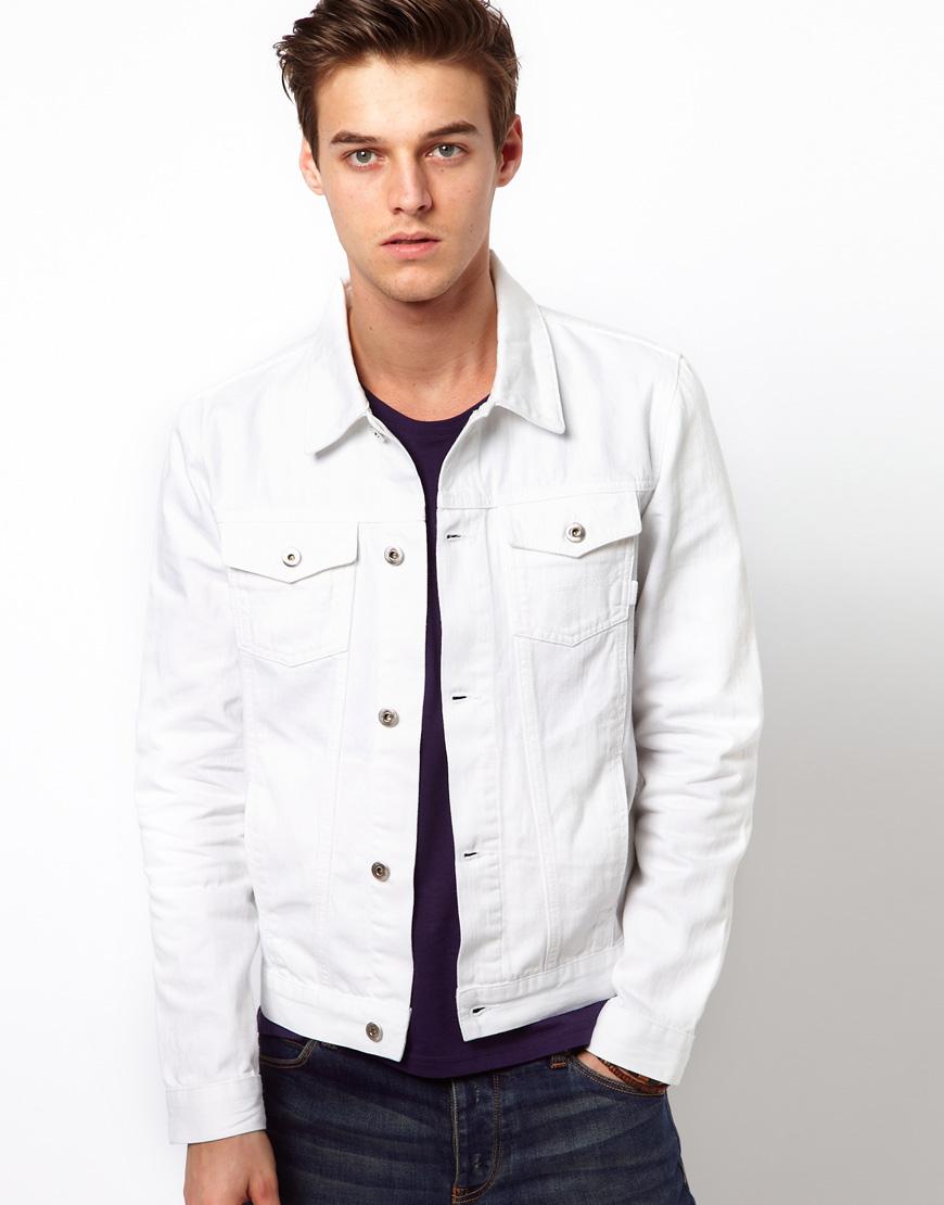 White Denim Jackets – Jackets
